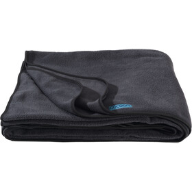 Cocoon Fleece Blanket, charcoal